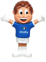 Boneco Mascote Itália