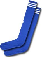 Meião 3 Listras Adidas Azul