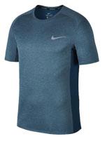 Camisa Nike Miler Top SS Azul