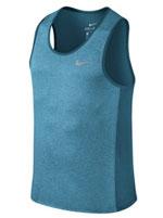 Camiseta Nike Miler Tank Dry Azul Mescla