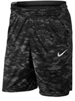 Calção Nike Short Print Attack Preto