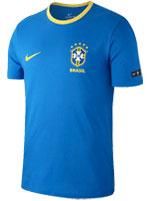 Camiseta Nike Brasil Azul