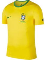 Camiseta T-Shirt Nike Brasil Amarela