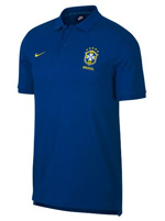 Camisa Polo Brasil NSW NIKE Azul