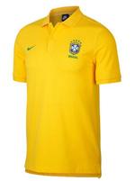 Camisa Polo Brasil NSW NIKE Amarelo