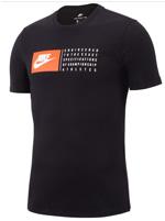 Camisa Nike Tee Verbiage Preta