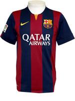 Camisa Jogo Juvenil Barcelona Nike 2015 Listrada