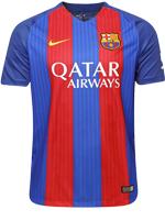Camisa Jogo 1 Barcelona Nike 2016/17 Listrada