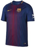 Camisa Jogo 1 Barcelona Nike 17/18 Listrada