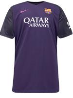 Camisa Jogo 2 Barcelona Nike 2016/17 Roxa