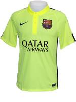 Camisa Jogo 3 Barcelona Nike 2015 Verde