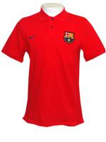 Camisa Polo Authentic Barcelona Nike Vermelha
