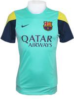 Camisa Treino Barcelona 2014 Nike Verde