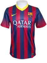 Camisa Jogo 1 Barcelona Nike 2014 Listrada