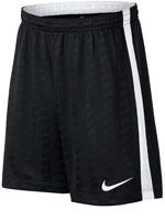 Bermuda Juvenil Nike Academy Preto e Branco