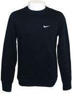 Blus�o Moletom Nike Fleece Crew Preto