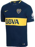 Camisa Jogo 1 Boca Juniors Nike 2017/18 Azul