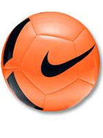 Bola de Futebol Pitch Team Campo Nike Laranja