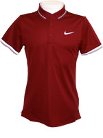 Camisa Polo Nike Court Vinho
