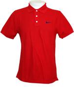 Camisa Nike Polo MatchUp Vermelha
