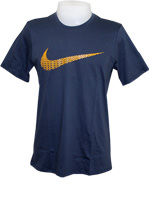 Camisa Nike Tee PowerUp Swoosh Cinza