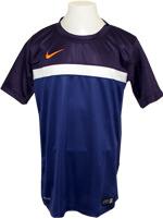Camisa Nike Infantil B Training Roxa/Azul