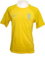 Camisa Brasil Match Tee Amarela