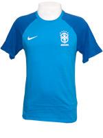 Camisa Brasil Match Tee Azul