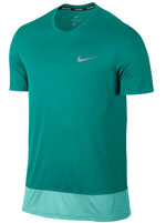 Camisa Nike Breathe Rapid Top SS Verde