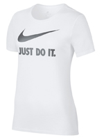 Camisa Nike Crew Just do It Branca Feminina