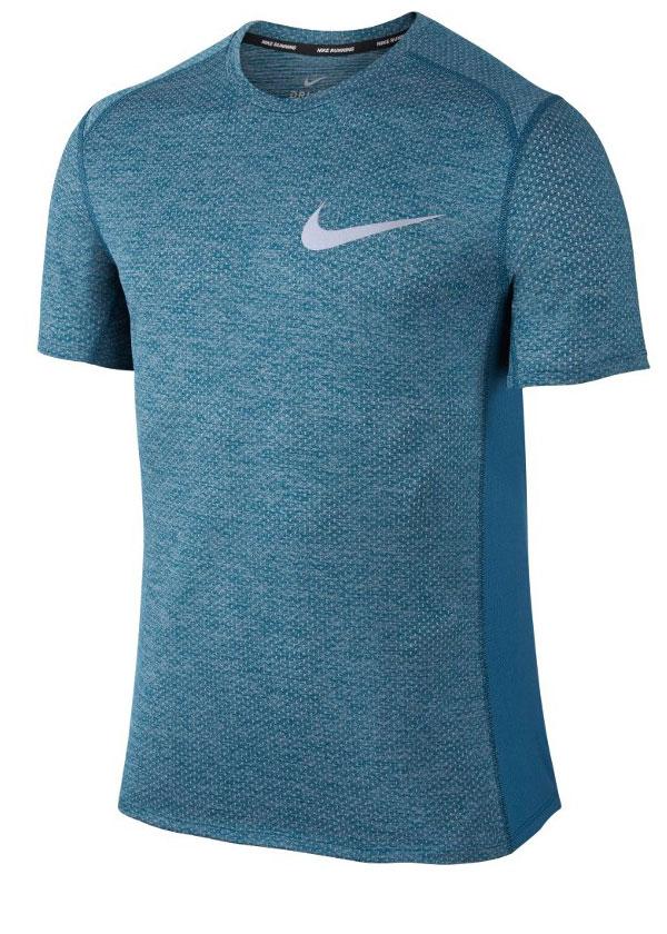 Camisa Nike Dry Miller Top SS Cool Marinho