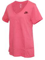 Camisa Nike NSW Tee Vnk Futura Feminina Rosa