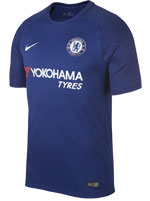 Camisa Jogo 1 Chelsea Nike 17/18 Azul