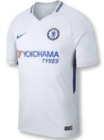 Camisa Jogo 2 Infantil Chelsea 17/18 Cinza