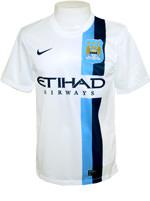 Camisa Jogo 3 Manchester City Nike 2014 Branca