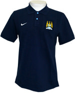 Camisa Polo Authentic Manchester City Nike Marinho