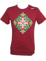 Camisa Portugal Core Plus Nike Vinho