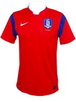 Camisa Jogo 1 Coréia do Sul Nike 2014 Vermelha