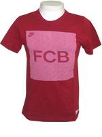 Camisa Barcelona Covert FCB Nike Vinho