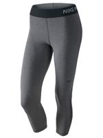 Calça Feminina Nike Pro Cool Capri Cinza