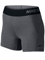 Short Feminino Nike Compressão Pro Gym Cinza