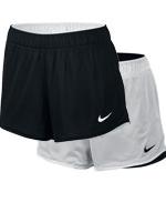 Short Feminino Nike Reversível Dry Preto/Branco