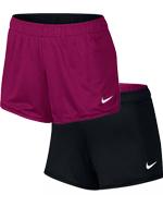 Short Feminino Nike Reversível Dry Preto/Rosa