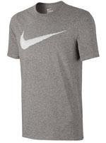 Camisa Nike Hangtag Swoosh Cinza