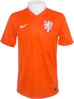 Camisa Jogo 1 Holanda Nike 2014 Laranja