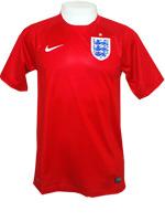 Camisa Jogo 2 Inglaterra Nike 2014 Vermelha