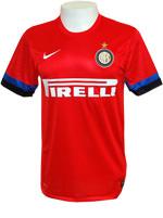Camisa Jogo 2 Internazionale Nike 2013 Vermelha