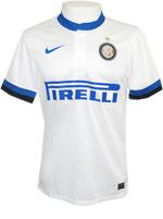 Camisa Jogo 2 Internazionale Nike 2014 Branca