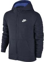 Jaqueta Nike NSW Club Juvenil Marinho