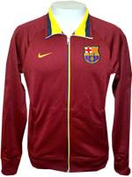 Jaqueta Core Trainer Barcelona Nike Vinho